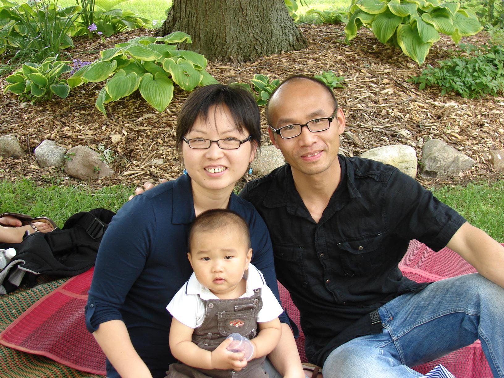 巴斯湖 爸爸妈妈和康康